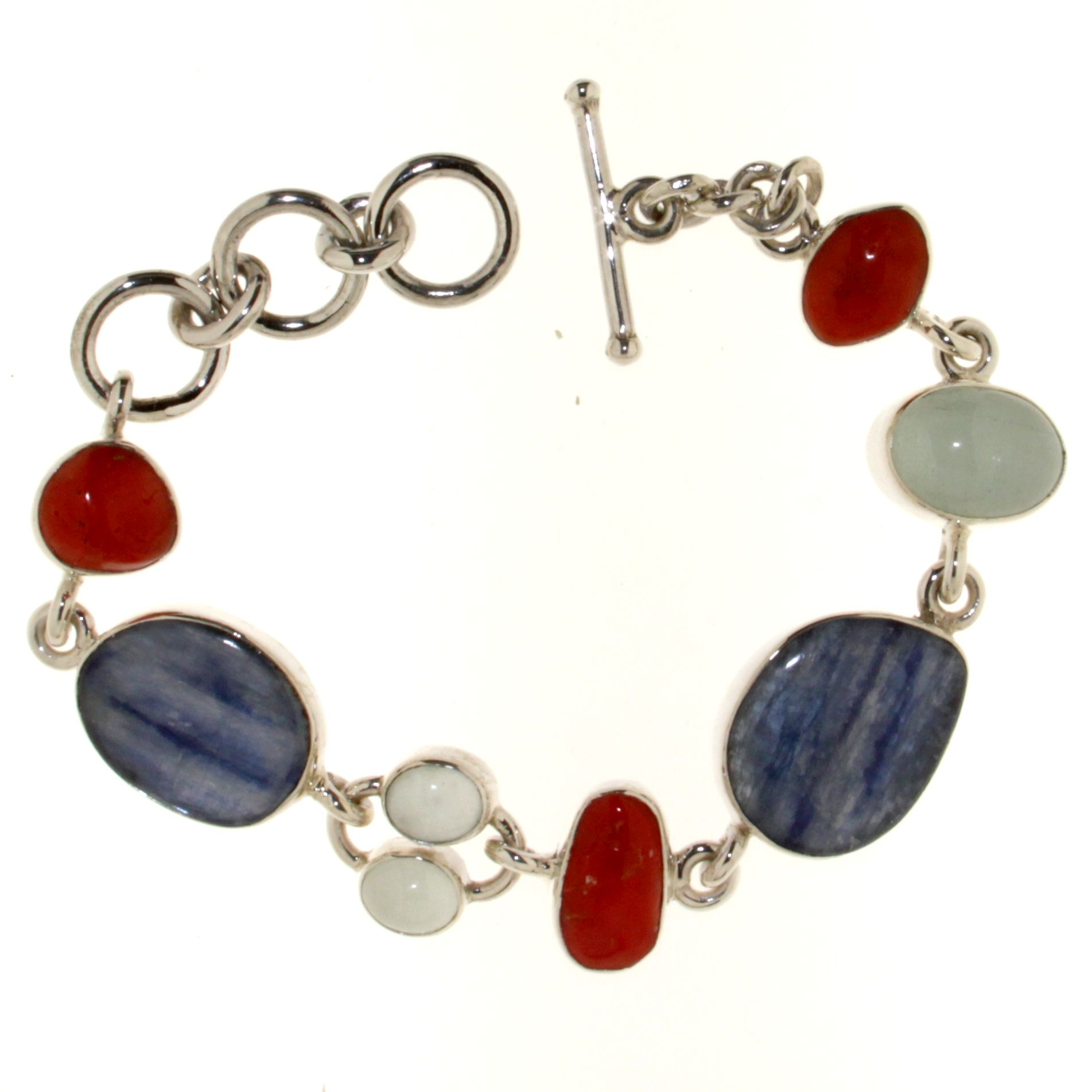 Bracelet with Red Coral of the Mediterranean Sea,